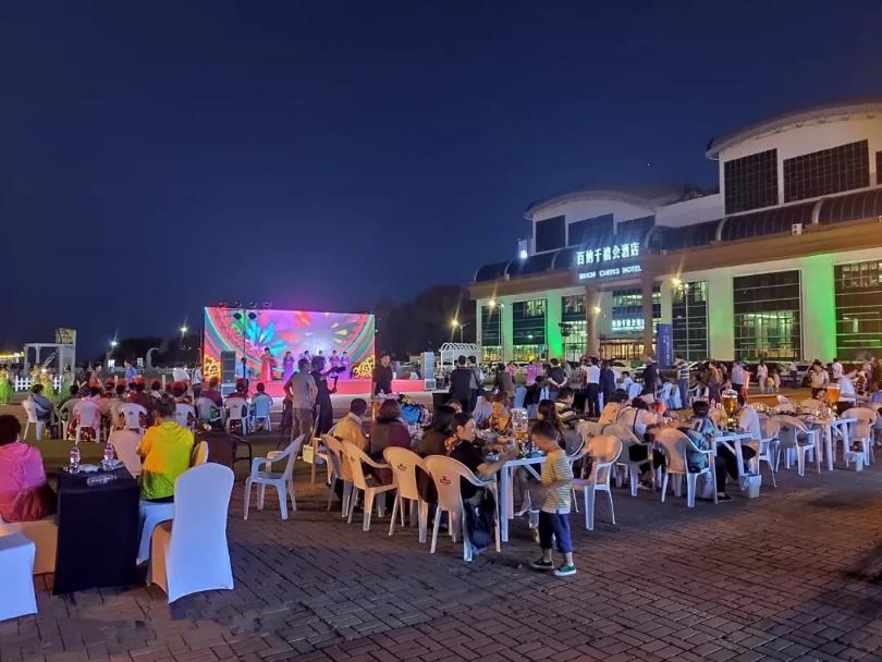 百纳千禧美食文化广场
